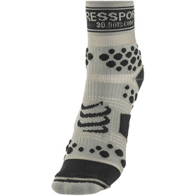 Compressport Racing V2 Trail - Calcetines Running - gris/negro